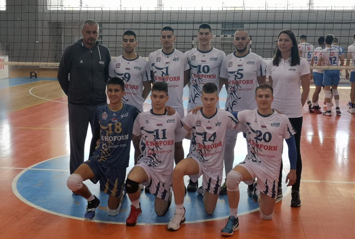 Ardu Sport na Juniorskom prventsvu Srbije u odbojci